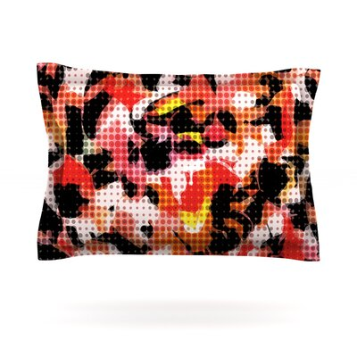 Camouflage Grid by Matthias Hennig Featherweight Pillow Sham Size: Queen, Fabric: Cotton