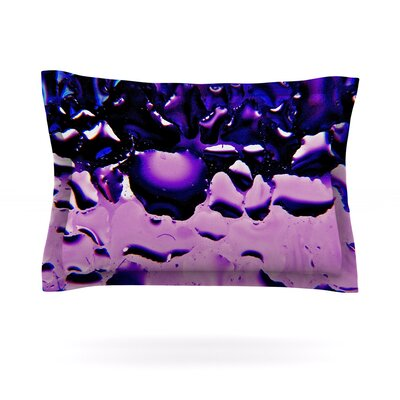 Window by Maynard Logan Featherweight Pillow Sham Size: Queen, Color: Purple, Fabric: Cotton