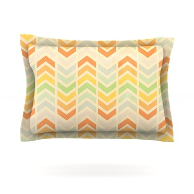 Infinity by Skye Zambrana Featherweight Pillow Sham Size: Queen, Fabric: Cotton