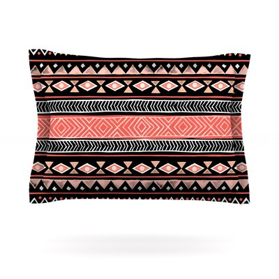 Mojave Black by Skye Zambrana Featherweight Pillow Sham Size: King, Color: Black, Fabric: Cotton