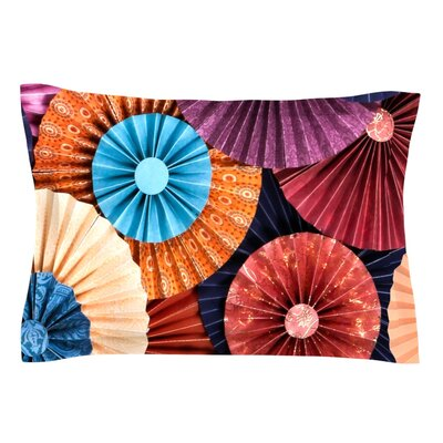 Moroccan by Heidi Jennings Featherweight Pillow Sham Size: King, Fabric: Cotton