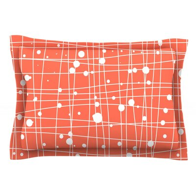Featherweight Web by Budi Kwan Featherweight Pillow Sham Size: King