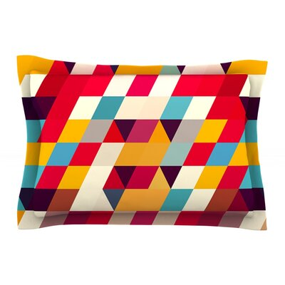 Kyoto by Danny Ivan Featherweight Pillow Sham Size: Queen, Fabric: Cotton