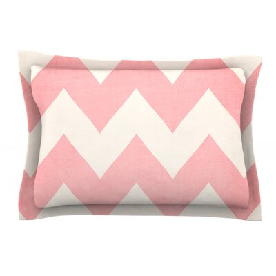 Sweet Kisses by Catherine McDonald Featherweight Pillow Sham Size: Queen, Fabric: Cotton