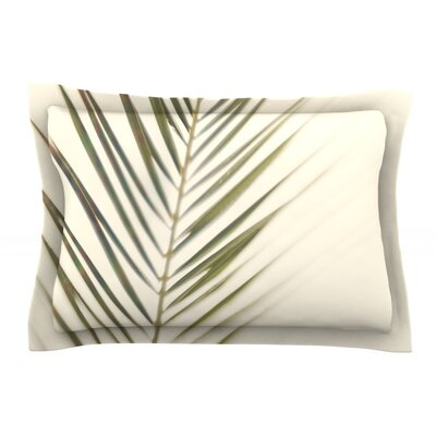 Shade by Catherine McDonald Featherweight Pillow Sham Size: Queen, Fabric: Cotton