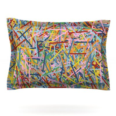 More Sprinkles by Project M Featherweight Pillow Sham Size: Queen, Fabric: Cotton