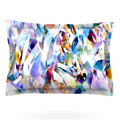 Buzz by Gabriela Fuente Featherweight Pillow Sham Size: King, Fabric: Cotton