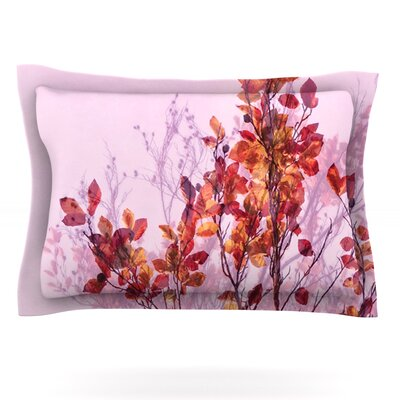 Autumn Symphony by Iris Lehnhardt Featherweight Pillow Sham Size: King, Fabric: Cotton