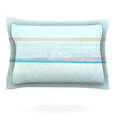 Cost by CarolLynn Tice Featherweight Pillow Sham Size: King, Fabric: Cotton