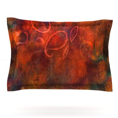 Tie Dye Paisley by Nikki Strange Featherweight Pillow Sham Size: Queen, Fabric: Cotton