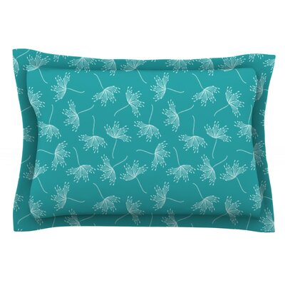 Windswept by Emma Frances Featherweight Pillow Sham Size: King, Fabric: Cotton