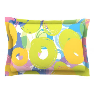 Circle Me by Emine Ortega Featherweight Pillow Sham Size: Queen, Fabric: Cotton