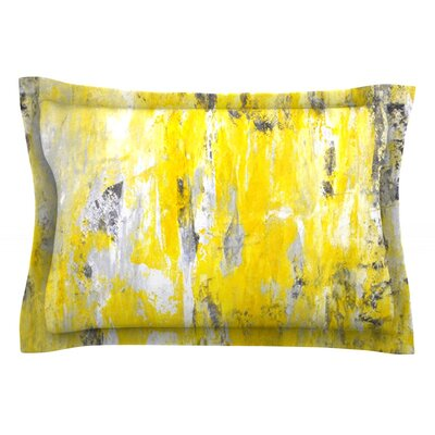 Picking Around by CarolLynn Tice Featherweight Pillow Sham Size: King, Fabric: Cotton