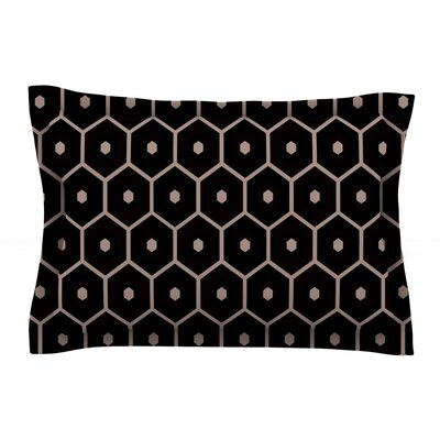 Tiled Mono by Budi Kwan Featherweight Pillow Sham Size: Queen, Fabric: Cotton