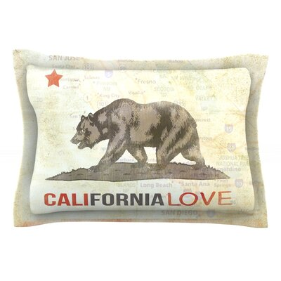 Cali Love by iRuz33 Featherweight Pillow Sham Size: King, Fabric: Cotton