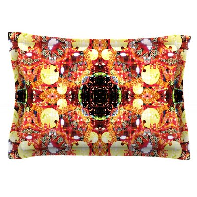 China by Danii Pollehn Featherweight Pillow Sham Size: Queen, Fabric: Cotton