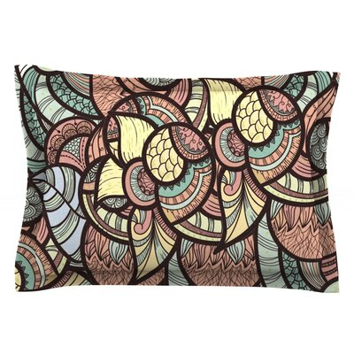 Wild Run by Danny Ivan Featherweight Pillow Sham Size: King, Fabric: Cotton