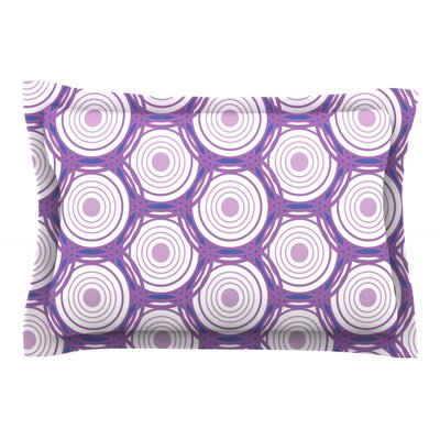 Labyrinth by Louise Featherweight Pillow Sham Size: Queen, Fabric: Cotton