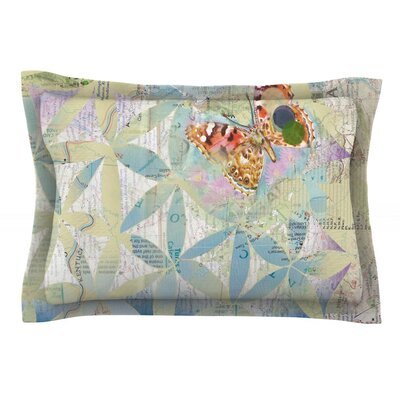 Miraculous Recovery by Catherine Holcombe Featherweight Pillow Sham Size: King, Fabric: Cotton