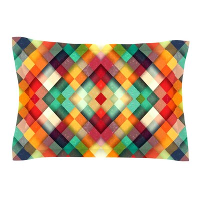 Time Between by Danny Ivan Featherweight Pillow Sham Size: King, Fabric: Cotton