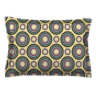 Patio Decor by Mydeas Featherweight Pillow Sham Size: Queen, Fabric: Cotton