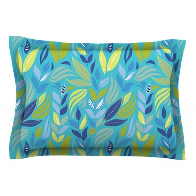 Underwater Bouquet by Michelle Drew Featherweight Pillow Sham Size: Queen