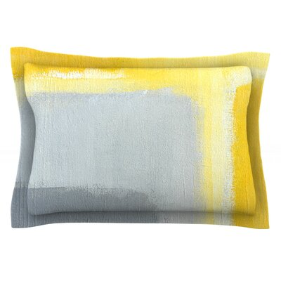 Inspired by CarolLynn Tice Featherweight Pillow Sham Size: Queen, Fabric: Cotton