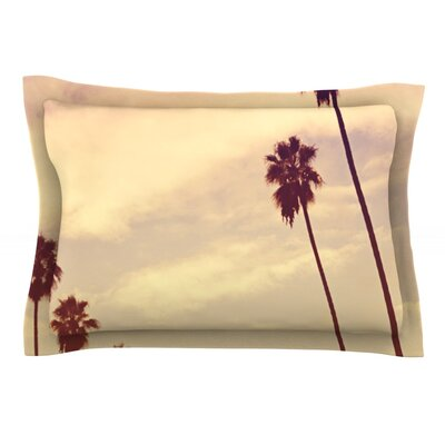 Endless Summer by Catherine McDonald Featherweight Pillow Sham Size: Queen, Fabric: Cotton