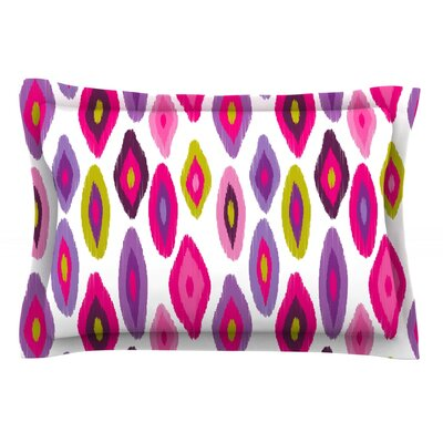 Moroccan Dreams by Nicole Ketchum Featherweight Pillow Sham Size: Queen, Fabric: Cotton