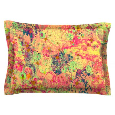 Time For Bubbly by Ebi Emporium Featherweight Pillow Sham Size: Queen, Fabric: Cotton
