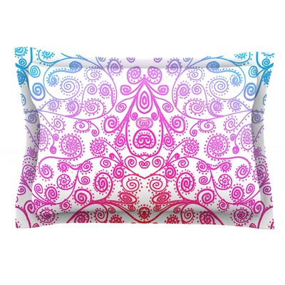 Safe and Sound by Monika Strigel Featherweight Pillow Sham Size: Queen, Fabric: Cotton