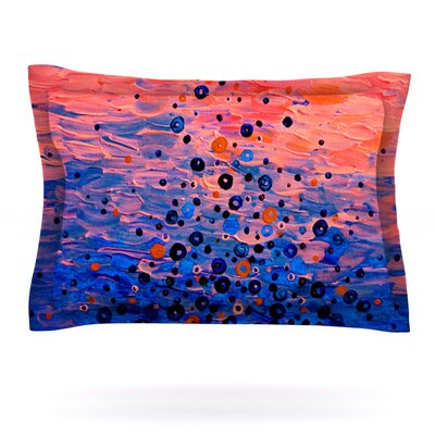 What Goes Up by Ebi Emporium Featherweight Pillow Sham Size: Queen, Fabric: Cotton