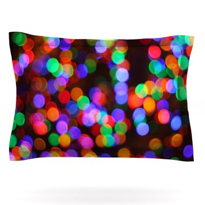 Lights II by Maynard Logan Featherweight Pillow Sham Size: Queen, Fabric: Cotton