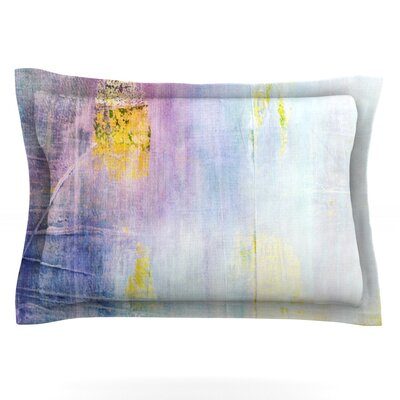 Color Grunge by Iris Lehnhardt Featherweight Pillow Sham Size: King, Fabric: Cotton