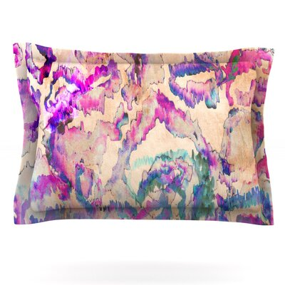 Weirdi Kat by Nikki Strange Featherweight Pillow Sham Size: King, Fabric: Cotton