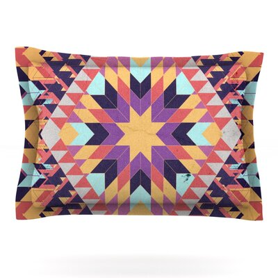 Ticky Ticky by Danny Ivan Featherweight Pillow Sham Size: Queen, Fabric: Cotton