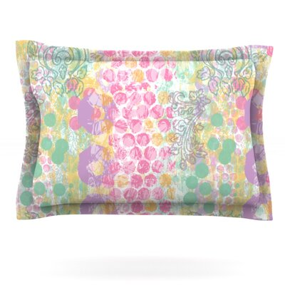Impression by Chickaprint Featherweight Pillow Sham Size: King, Fabric: Cotton