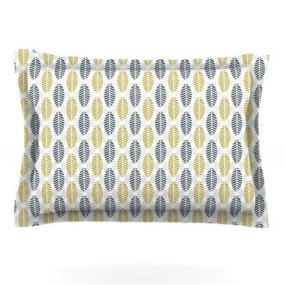 Seaport by Julie Hamilton Featherweight Pillow Sham Size: Queen, Fabric: Cotton