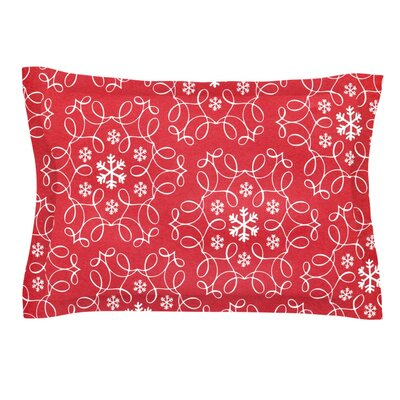 Christmas Spirit by Heidi Jennings Pillow Sham Size: King, Fabric: Cotton