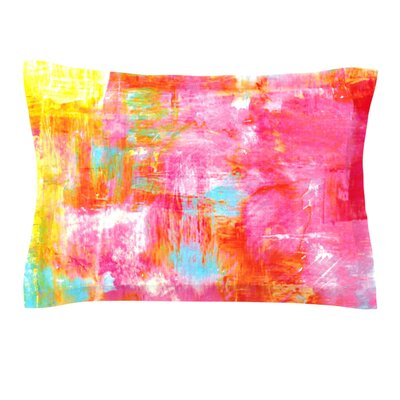 Off The Grid III by Ebi Emporium Featherweight Pillow Sham Size: King, Fabric: Cotton