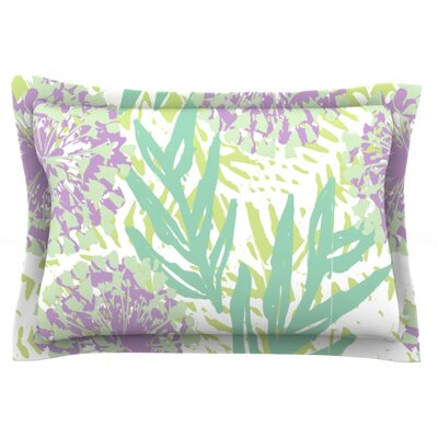 Varen by Chickaprint Featherweight Pillow Sham Size: King, Fabric: Cotton