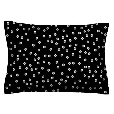 Watercolor Dots by Skye Zambrana Featherweight Pillow Sham Size: Queen, Fabric: Cotton