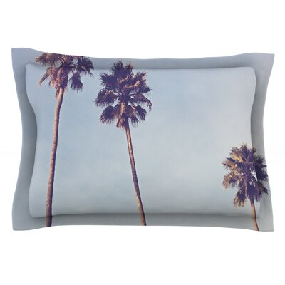 Sunshine and Warmth by Catherine McDonald Featherweight Pillow Sham Size: King, Fabric: Cotton