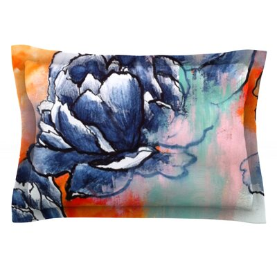 Bloom by Sonal Nathwani Featherweight Pillow Sham Size: Queen, Fabric: Cotton