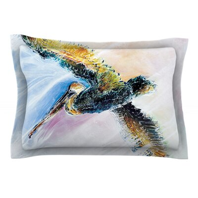 Overhead by Josh Serafin Featherweight Pillow Sham Size: King, Fabric: Cotton