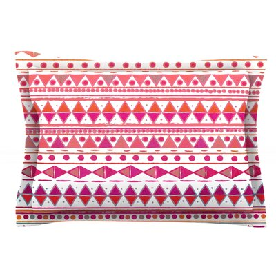 Summer Breeze by Nika Martinez Featherweight Pillow Sham Size: Queen, Fabric: Cotton