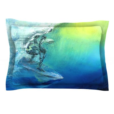 September High by Josh Serafin Featherweight Pillow Sham Size: King, Fabric: Cotton