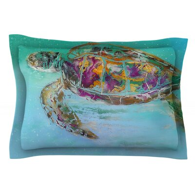 Mommy by Josh Serafin Featherweight Pillow Sham Size: King, Fabric: Cotton