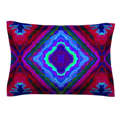 Kilim by Nina May Featherweight Pillow Sham Size: King, Fabric: Cotton