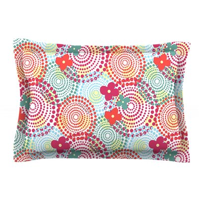 Balls by Louise Machado Featherweight Pillow Sham Size: Queen, Fabric: Cotton
